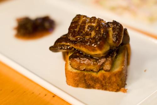 Foie Gras on Brioche