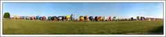 Mongolfire 2009 Chambley Meurthe & Moselle Alignement (tatananas) Tags: nature nikon lumire ballon gimp sigma bleu ciel linux record monde 1770 arbre gnu mongolfire herbe matin panoramique alignement chambley d80 meurtheetmoselle tatane tatananas