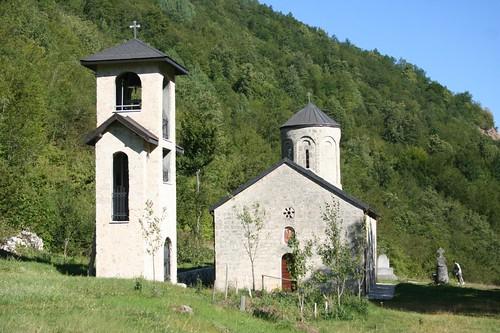 Podmalinsk Monastery in Montenegro