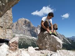 Dolomiti, arrampicare alle Cinque Torri