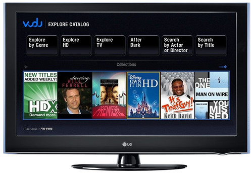 VUDU on LG TV