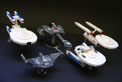 tosfleet (- 2x4 -) Tags: trek star lego klingon miranda enterprise constellation romulan tos d7 microspacetopia