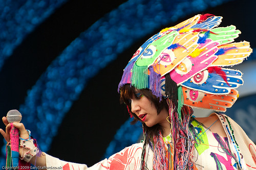 Karen O Glastonbury 2009