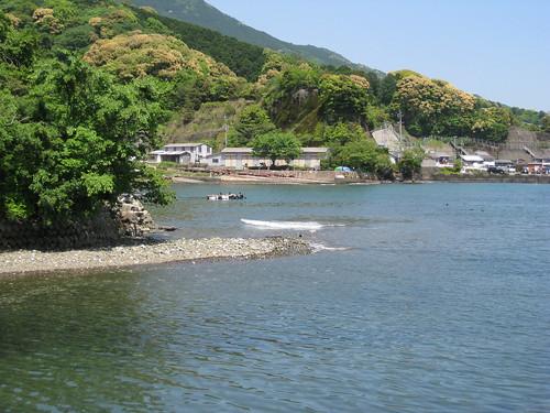 Mountain and Owase Bay