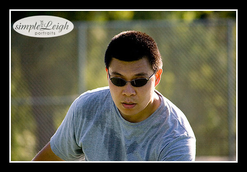 Yummy Hubby Playing Tennis