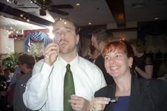 Abigail & Doug's Wedding (Joe Shlabotnik) Tags: paul bubbles 1999 jenm may1999