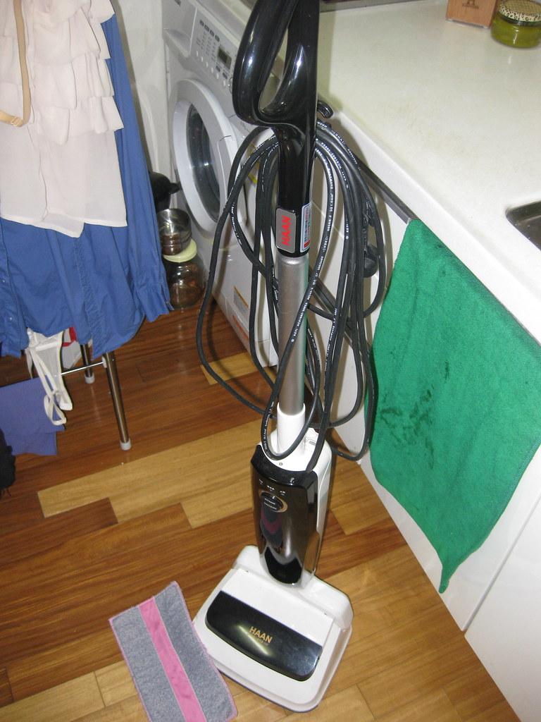 Steam cleaner/vacuum