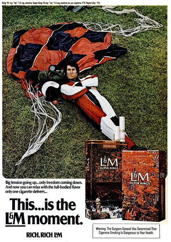 L & M Ad (Popular Science - October 1972) by Fugue.