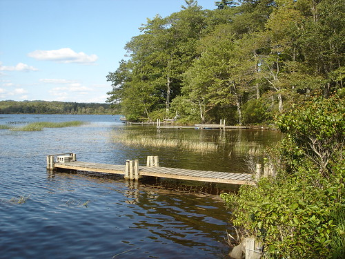 Back dock, West Lake (Canada Lake), Adirondacks, New York.