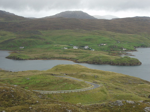 Maaruig from the Rhenigidale road