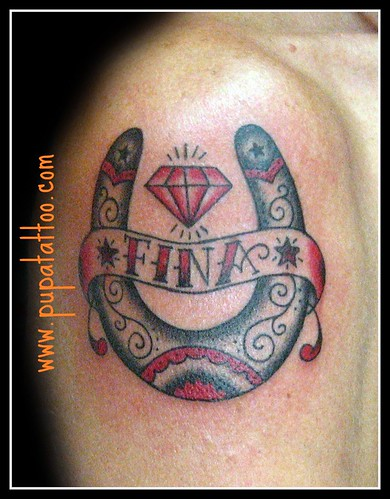 Off the Map Tattoo : Tattoos Size:1600x1143 - 173k: Horseshoe Tattoos
