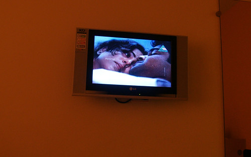 sleeping india television movie hotel tv couple cheek panel fat screen morningafter lg seduction drama gaze hotelroom stubble flatscreen malayalam malayali asianet