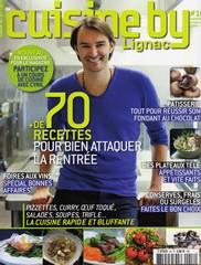 Cuisine by Lignac - septembre/octobre 2009