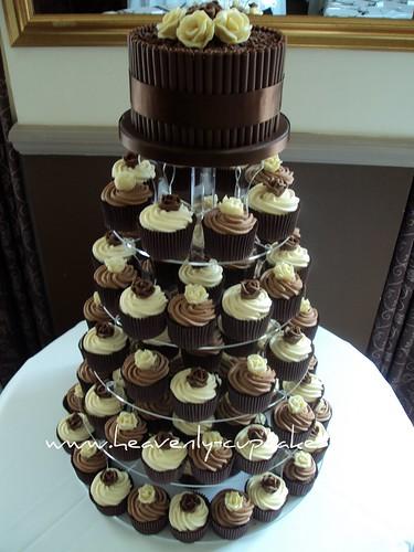 Chocolate Wedding Cupcakes-Nottingham