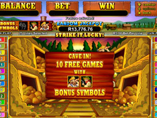 free Pay Dirt! slot bonus feature