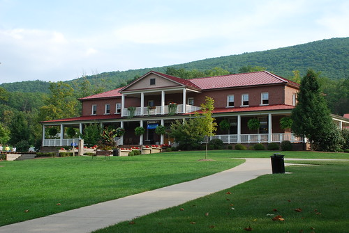 DC area and went to a church retreat at Rockbridge Alum Springs,