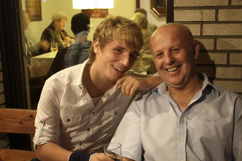 Basti and my Dad