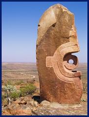 Bajo El Sol Jaguar (eggers47) Tags: sculpture australia nsw brokenhill livingsculpture bajoelsoljaguar