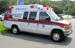 Danbury Ambulance - 7 (lemoncat1) Tags: ambulance paramedic ems emt lifesupport emergencymedicaltechnician advancedlifesupport emergencymedicalservice flycar