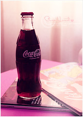 coca cola ~ .. ( Explore ) (hana photography ) Tags: heart cola sony explore pure coca   dslra200 p ht hanabentmohammad