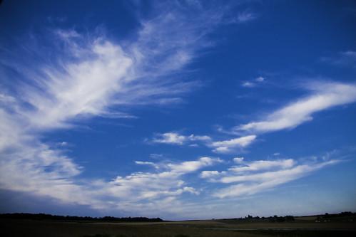 フリー画像| 自然風景| 空の風景| 雲の風景| 青色/ブルー|       フリー素材|