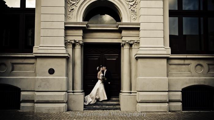 Courtney & Glen - At the door