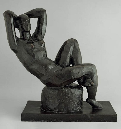 Matisse, Grand nu assis, Bronze 1922-1929, Musée Matisse, le Cateau-Cambresis © succession H. Matisse - Photo : Adam Rzepka