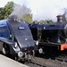 60007 (Sir Nigel Gresley) & 6619 at Grosmont