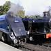 60007 (Sir Nigel Gresley) & 6619 at Grosmont
