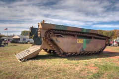 IMG_1319_20_21_tonemapped (SdcRX4) Tags: virginia buffalo wwii vehicles armored hdr amphibious tracked nmaw lvt photomatix nokesville