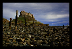 Lindisfarne (The Holy Island) (forbesimages) Tags: england castle landscape island holy lindisfarne