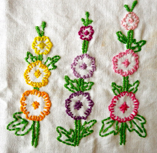 Tea Towel Stitching by sarahj2001