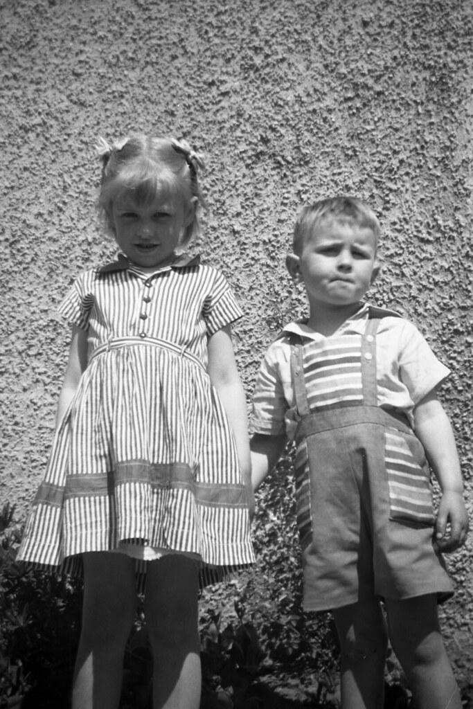 Ian Ross And Girl Next Door, 1958.