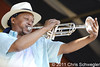 Kermit Ruffins And The Barbecue Swingers @ New Orleans Jazz & Heritage Festival, New Orleans, LA - 05-06-11