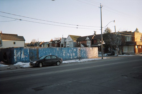Empty lot, Dupont and Westmoreland by randyfmcdonald