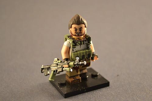 Custom minifig Sergeant Tomas