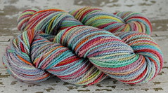 """Moody Rainbow"" 6.9oz Mtn Meadow Wool"