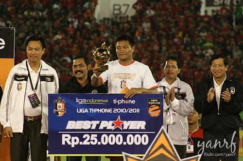 Wahyu Wijiastanto - Pemain Terbaik Liga Ti-Phone