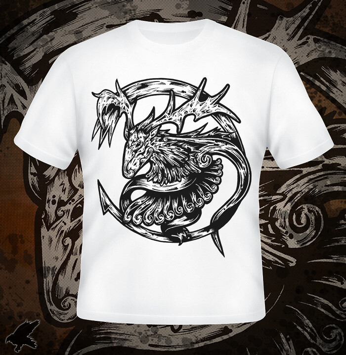 crescent t-shirt design