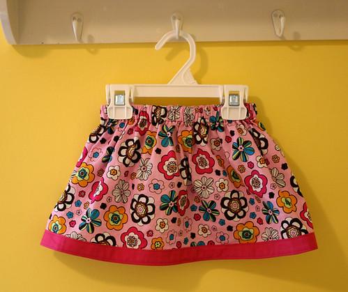 pink flowery skirt 1