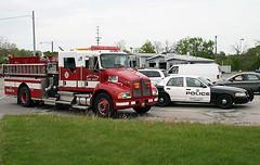 Westland #1471 and #329 (Brad Noyes) Tags: auto rescue truck fire crash michigan police firetruck westland kenworth crownvictoria 1471