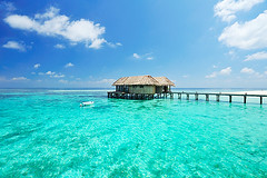 your restaurant...! (muha...) Tags: blue sea summer holiday tourism beach island restaurant boat nikon perfect smooth sunny resort lucky destination once colourful maldives gettyimages muha mirihi nikon24mm sunnysideoflife mirhimaldives