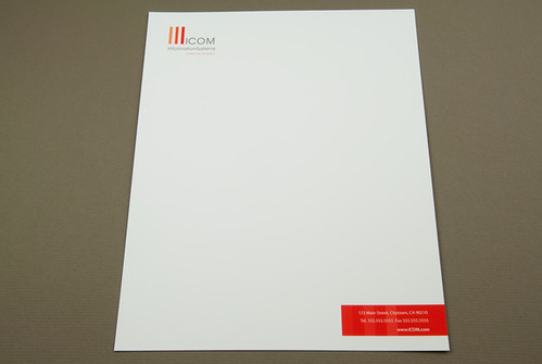 Professional IT Consulting Letterhead