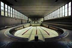 drawn by the undertow (Pippa Killi Nova) Tags: 1920s house abandoned pool swimming bath decay wideangle august urbanexploration ww1 piscine urbex neorenaissance ouwen dok richardgubbels pippakillinova haesendonck chachoir