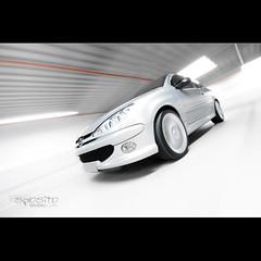 Esguelando. (El Onofre) Tags: auto car speed leo 206 el rig carro tuning velocidade peugeot onofre automóvel veículo sposito elonofre clubepeugeot leosposito