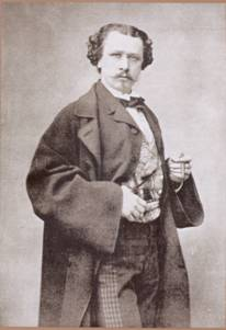 Photograph of Carlos de Haes (Brussels, 1826-1898) c. 1870.