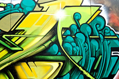 ODISY Detail 2 (Romany WG) Tags: art graffiti sussex brighton artillery walls aerosol heavy odisie odisy