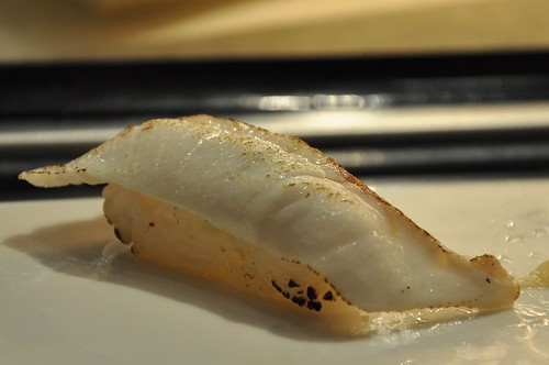 你拍攝的 炙燒海鱺壽司。