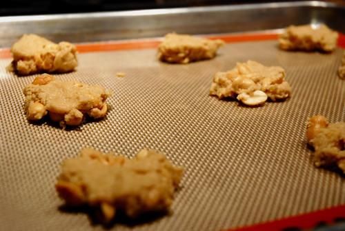 Peanut Crisps, Dough