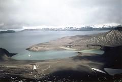 880128 Deception Island, Telephone Bay (rona.h) Tags: 1988 antarctic cloudnine deceptionisland ronah telefonbay worldtrekker vancouver27 bowman57 telephonebay